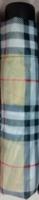 Taschenschirm Regenschirm Schirm Minischirm Karo Motive Design inkl. Schutzhülle