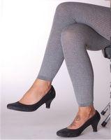Leggings Leggins Thermo Farbe: Grau