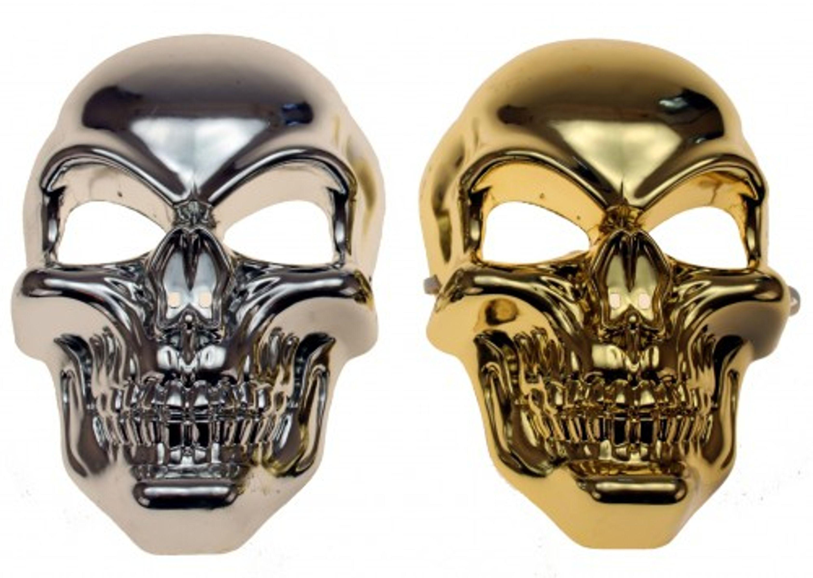 totenkopfmaske totenkopf maske sch del skelett halloween karneval kost m haushaltswaren m bel. Black Bedroom Furniture Sets. Home Design Ideas