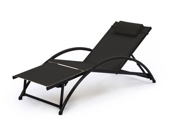 sonnenliege gartenliege gartenm bel liege garten aluminium freizeit camping outdoor. Black Bedroom Furniture Sets. Home Design Ideas