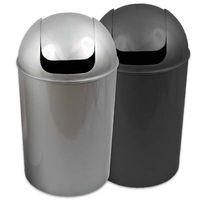 Abfalleimer mit Schwingdeckel Mülleimer Müllsammler Schwingdeckeleimer rund 25L