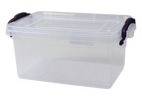 Aufbewahrungsbox mit Deckel & Griffen Box Lagerbox Aufbewahrungskiste Stapelbox