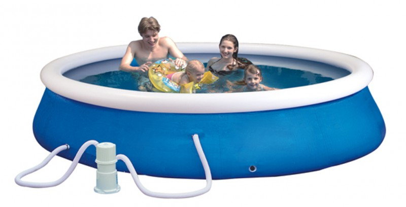 Bestway planschbecken set quick up pool swimming for Quick up pool obi