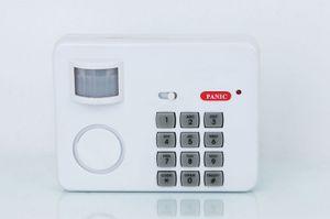 Bewegungsmelder mit Tastenfeld Alarmanlage Zahlencode Hausalarm Code