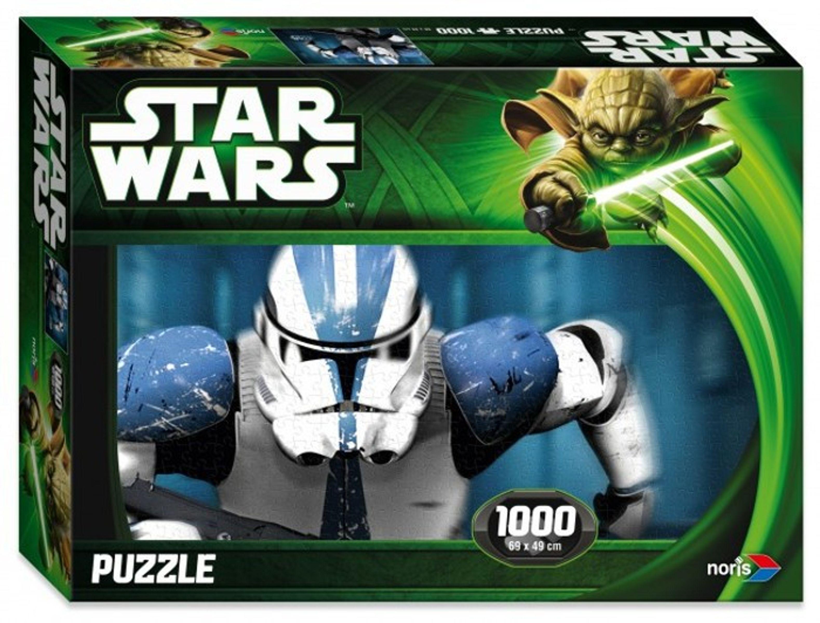 Noris Star Wars Puzzle »Lord Vader Episode 2 /& 3«1000 Teile Yoda Disney Spiel