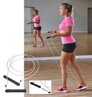 Springseil Hüpfseil Trainingsseil Sprungseil Jumping Fitness mit Gewichten