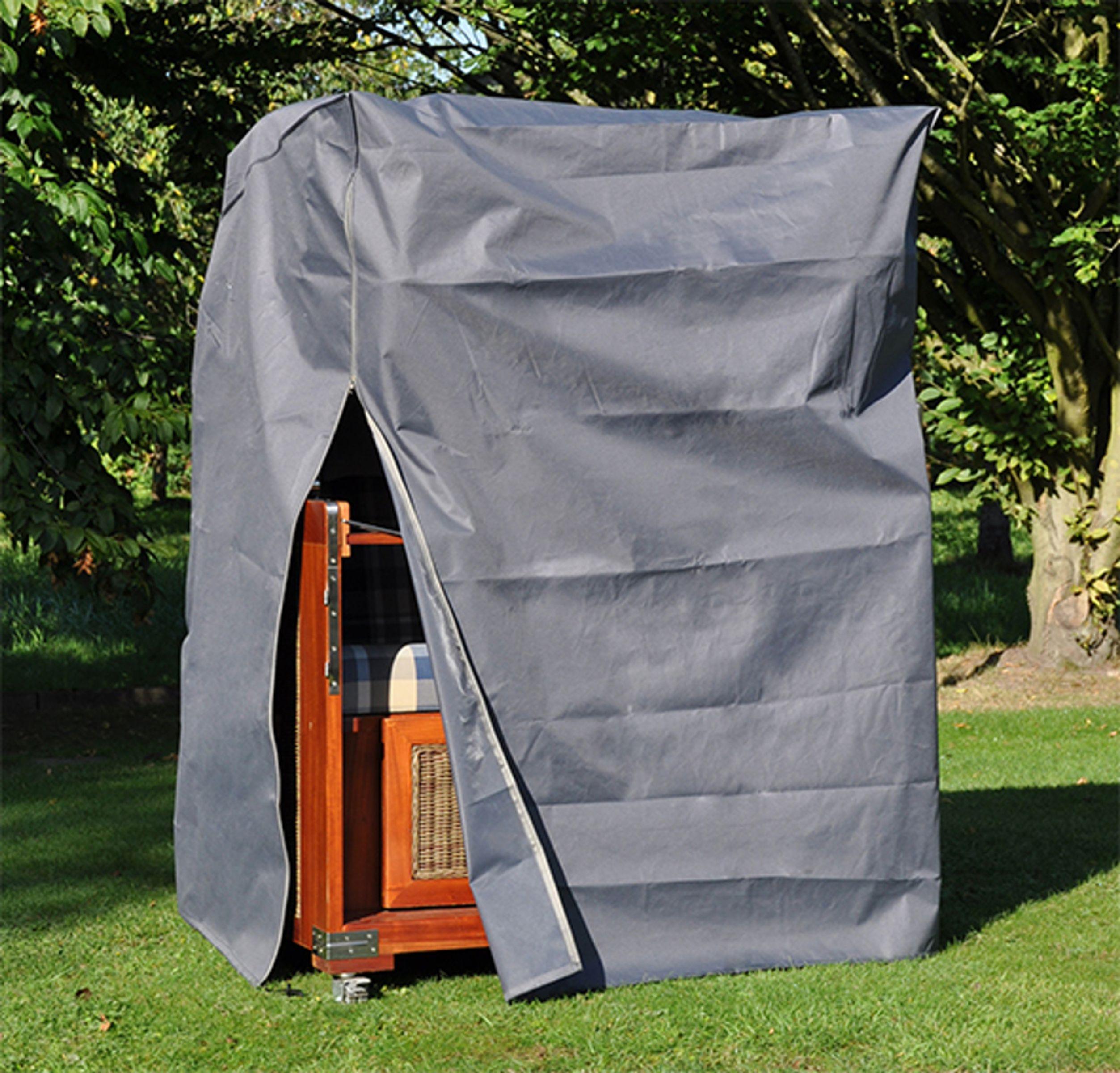 schutzh lle schutzhaube sch tz h lle abdeckhaube strandkorb 130x100x170 134 cm ebay. Black Bedroom Furniture Sets. Home Design Ideas