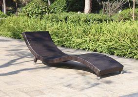 Sonnenliege Gartenliege Relaxliege Liegestuhl Garten Terrasse Balkon coffee