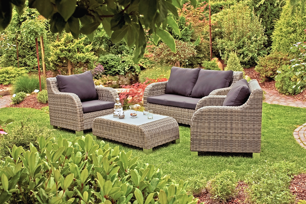 lounge gruppe sitzgruppe gartensessel gartenm bel terrassenm bel sofa sessel garten baumarkt. Black Bedroom Furniture Sets. Home Design Ideas