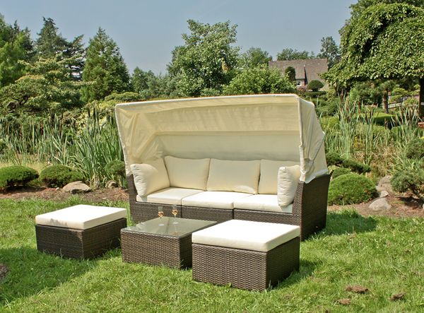 lounge sofa sitzecke couch lounge gartensofa liege garten. Black Bedroom Furniture Sets. Home Design Ideas