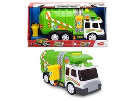 Dickie Müllfahrzeug Müllwagen Müllabfuhr Fahrzeig Auto Garbage Truck