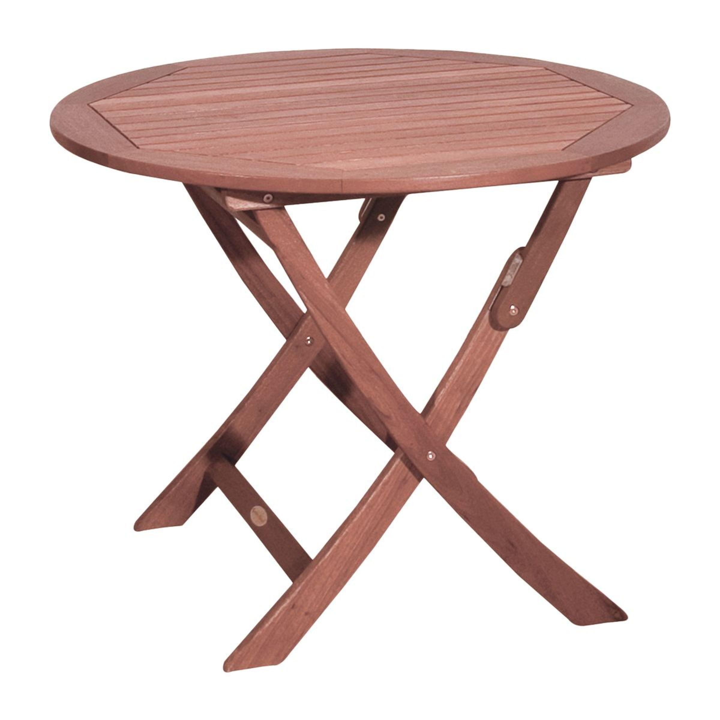 Holztisch Rund Garten.Klapptisch Tisch Gartentisch Holztisch Garten Klappbar Holz Rund ø 90 Cm