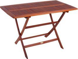 Klapptisch Gartentisch Esstisch Holztisch Tisch Garten Holz 120 x 70 cm