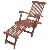 Deckchair Liegestuhl Sonnenliege Gartenliege Liege Garten mehrfach verstellbar