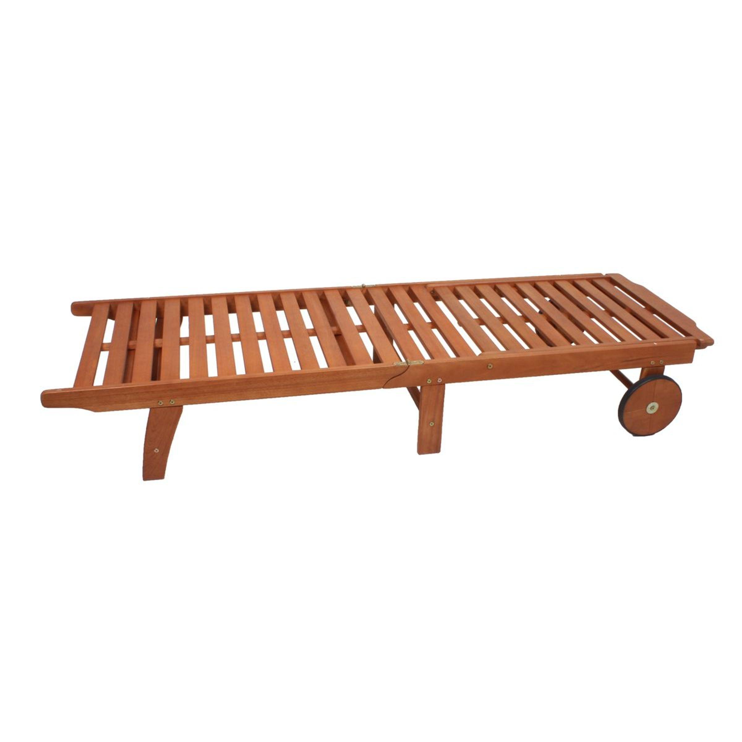... Gartenliege Liegestuhl Sonnenliege Liege Holzliege Klappbar Verstellbar  Holz 002 ...