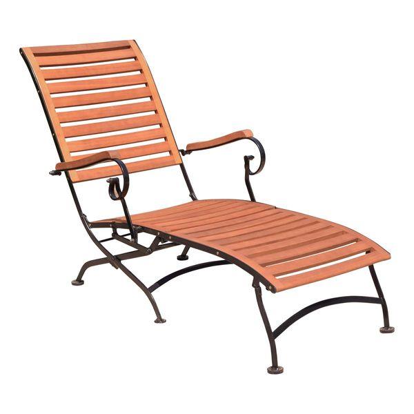 deckchair holzliege liegestuhl gartenliege liege garten balkon terrasse holz garten baumarkt. Black Bedroom Furniture Sets. Home Design Ideas