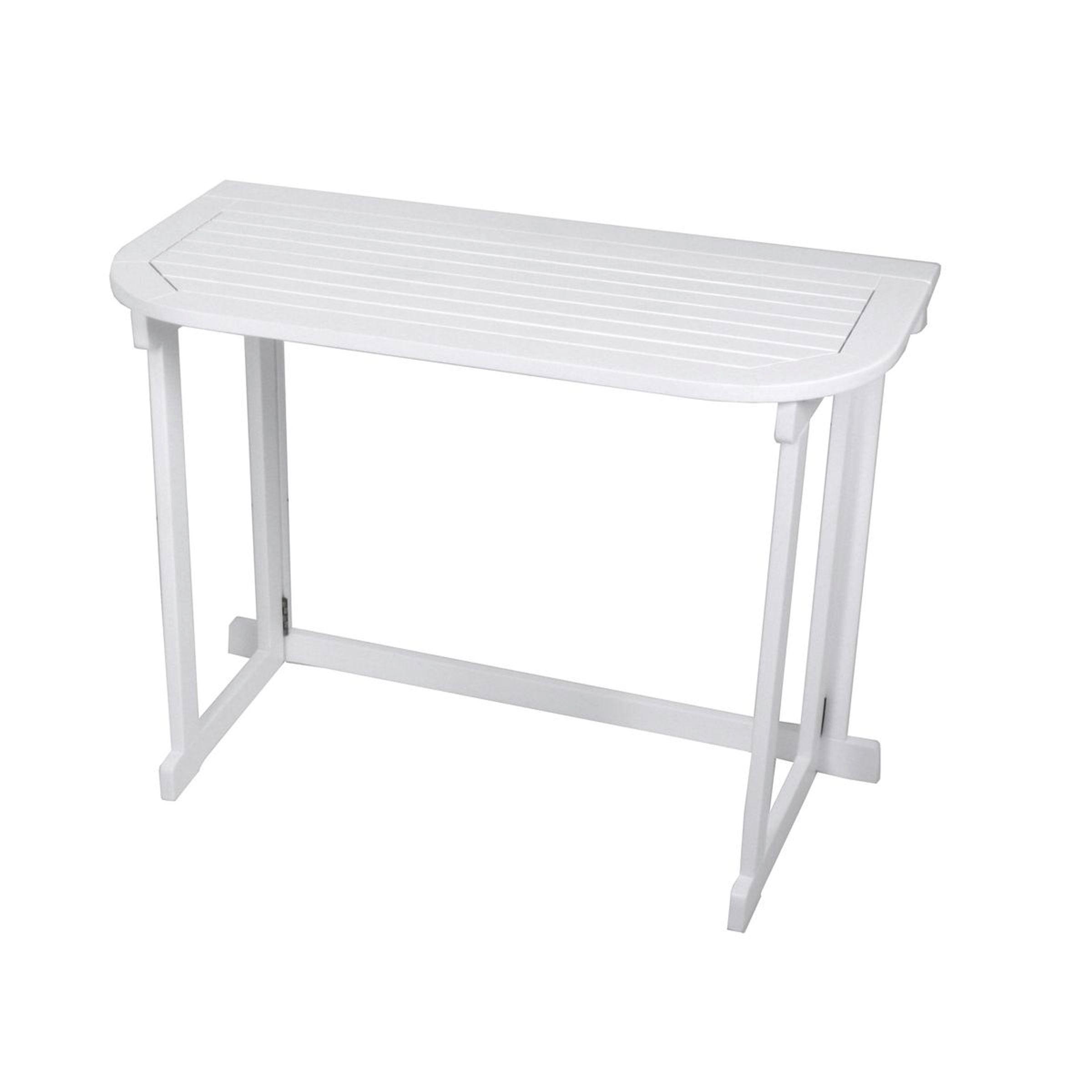 Balkon Tisch Klapptisch Tisch Holztisch Balkon Terrasse Garten Holz 100 X  50 Cm