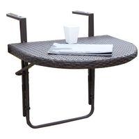Balkon-Hängetisch Balkontisch Klapptisch Gartentisch Tisch klappbar Coffee
