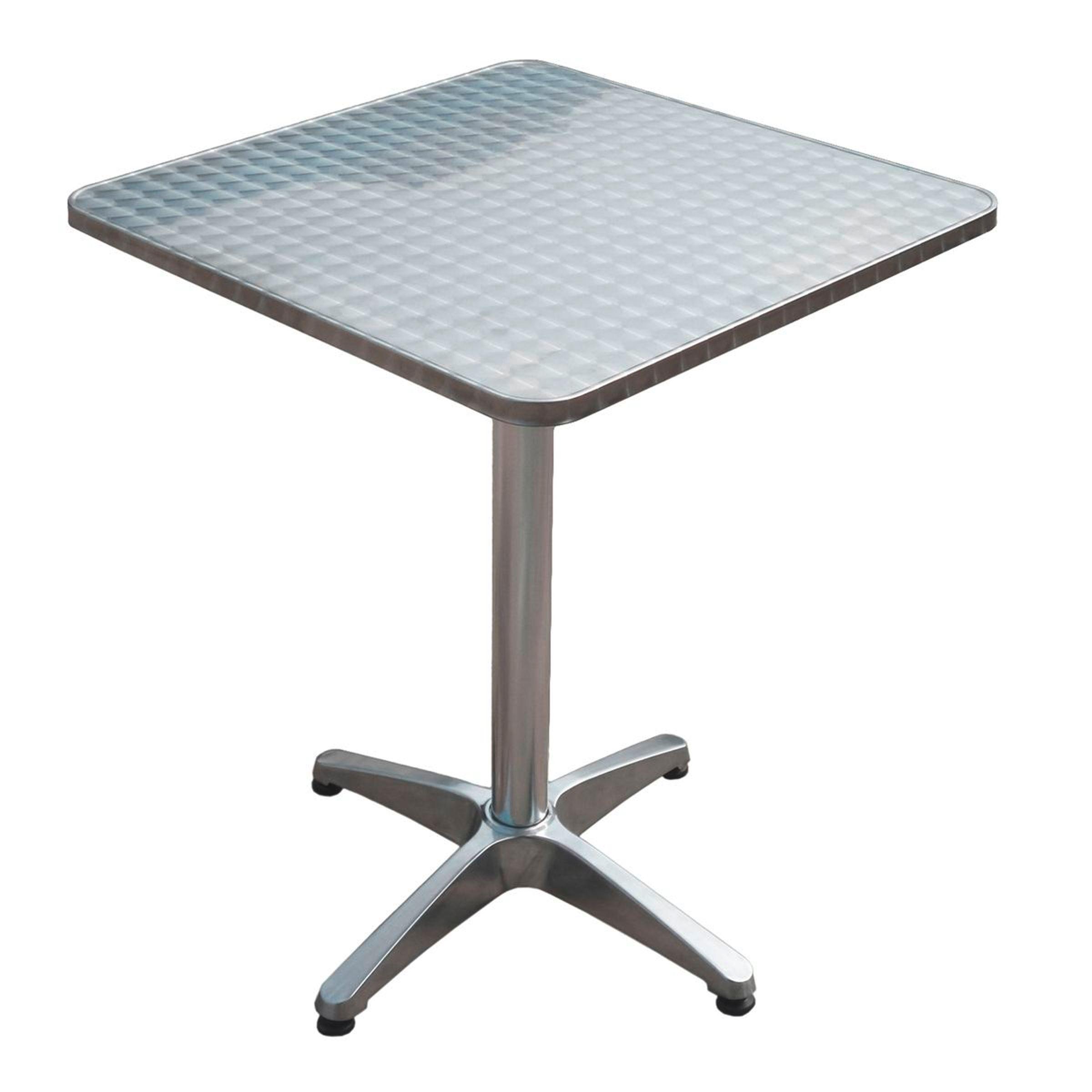 Bistro Tisch Klapptisch Gartentisch Klappbar Quadratisch Alu Gestell