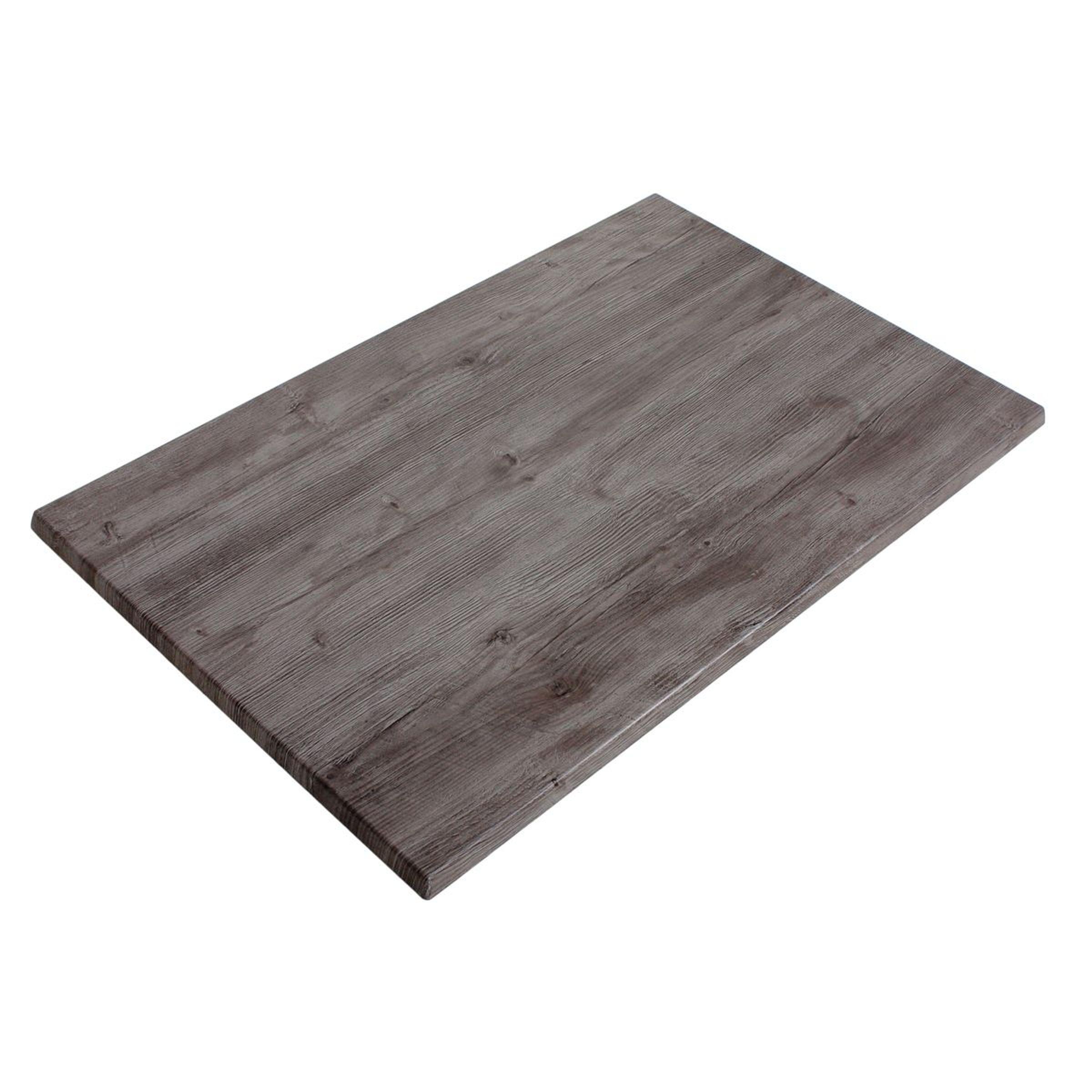 Tischplatte Gartentisch Platte Tisch Garten Grau 110x70 cm Garten ...