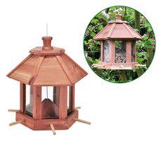 Vogelfutterhaus Vogelhaus Vogel Futterstation Futterspender Vogelfutterstation