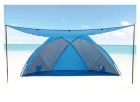 Strandmuschel Strandzelt Sonnenschutz Windschutz Zelt Muschel mit Sonnendach