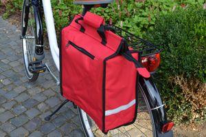 Shopper Fahrradtasche Gepäckträger Seitentasche Tasche 22 Liter