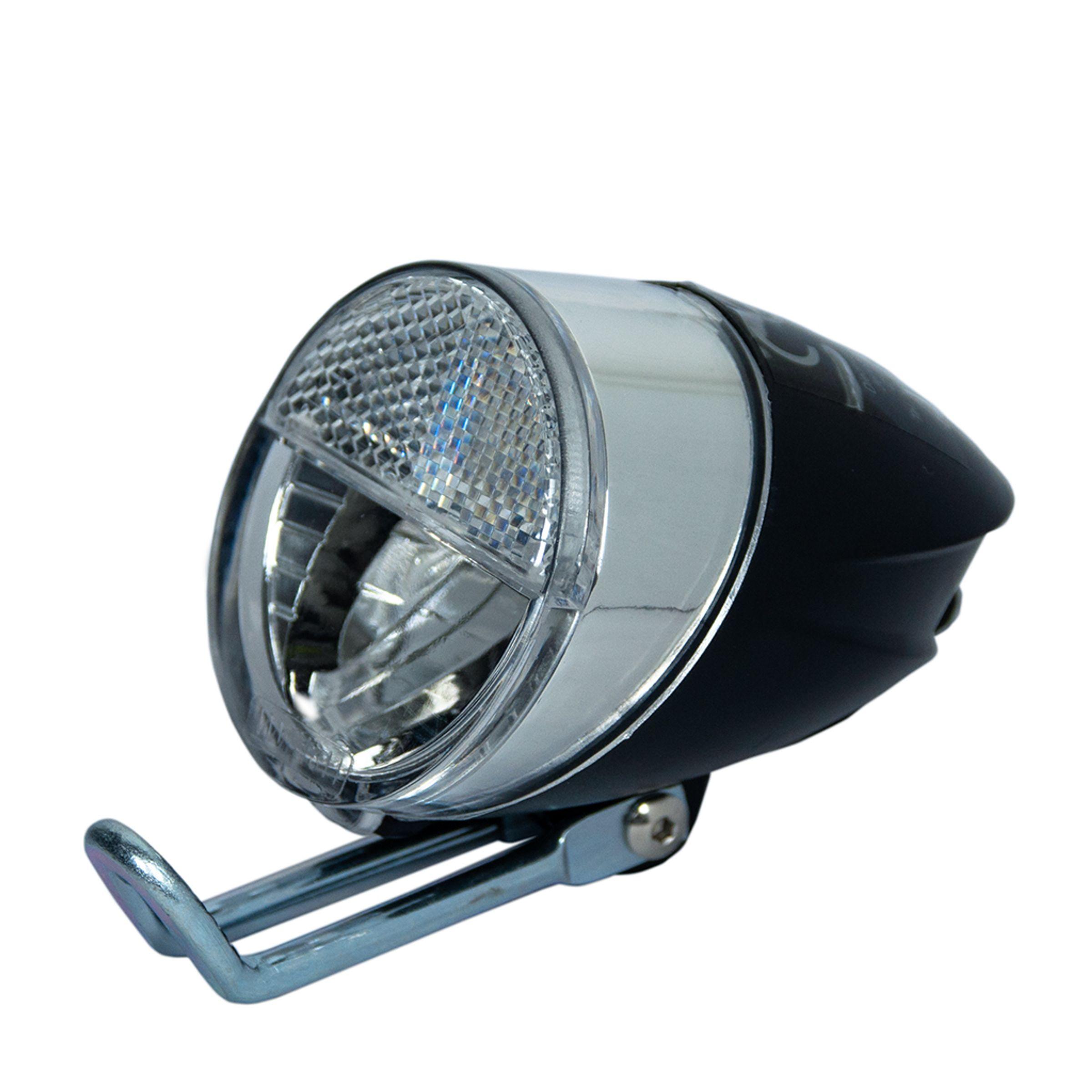 led fahrrad scheinwerfer frontlicht vorderlicht vorne mit sensor 30 lux ebay. Black Bedroom Furniture Sets. Home Design Ideas