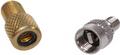 Adapter-Set für Dunlop auf Schrader und Schrader auf Dunlop