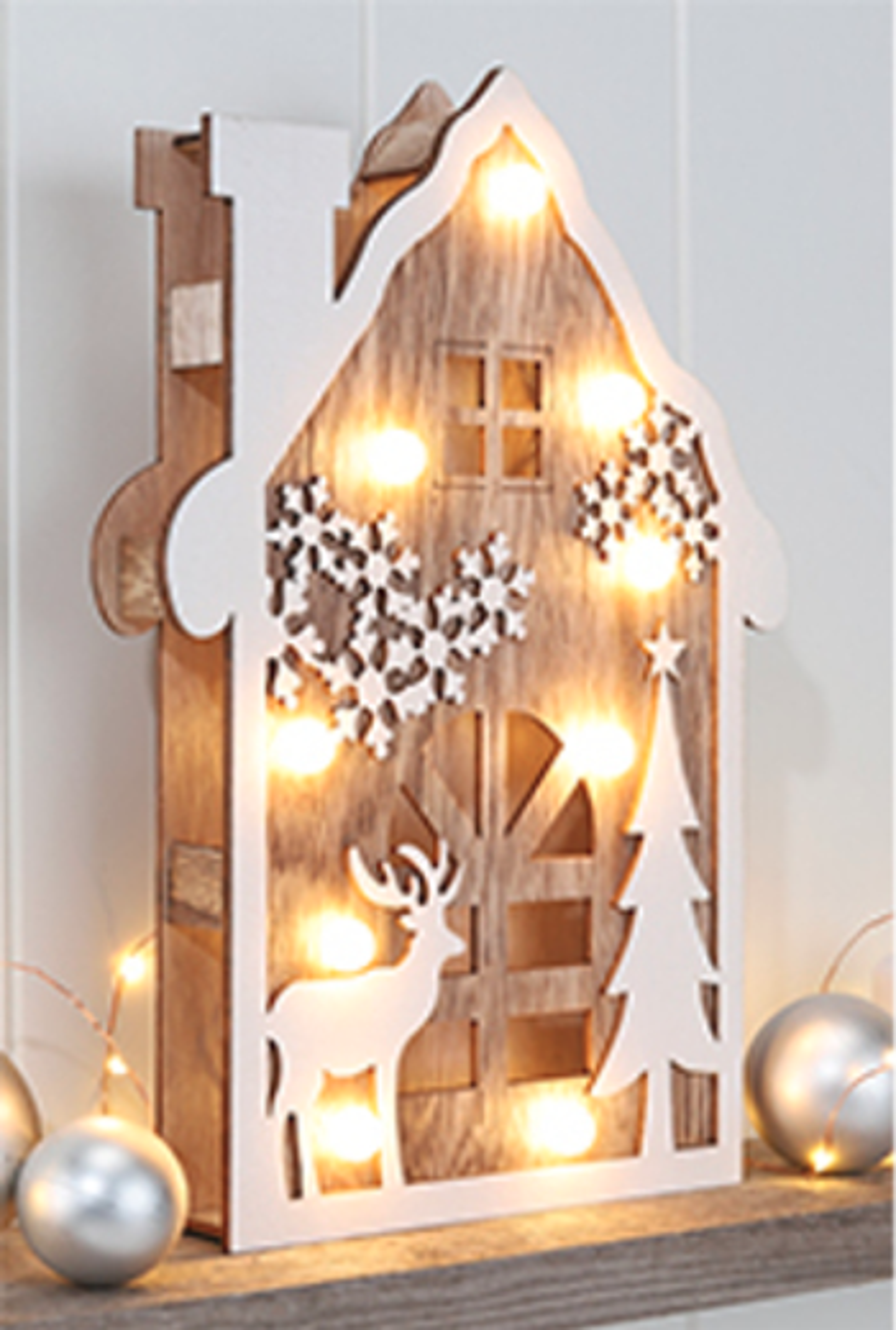 Weihnachtsdeko Günstig Auf Rechnung.Led Holzdekoration Adventsdekoration Weihnachten Dekoration Weihnachtsdeko
