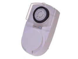Zeitschaltuhr mit Kindersicherung für den Außenbereich Analog Timer Schalter