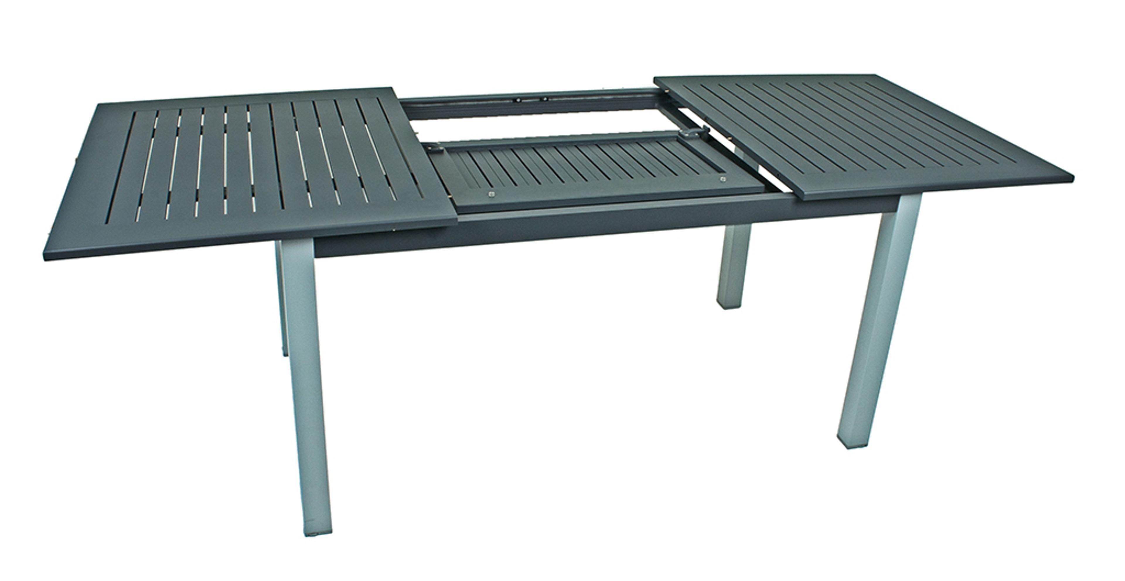 Tisch Gartentisch Esstisch Ausziehtisch Aluminium Ausziehbar